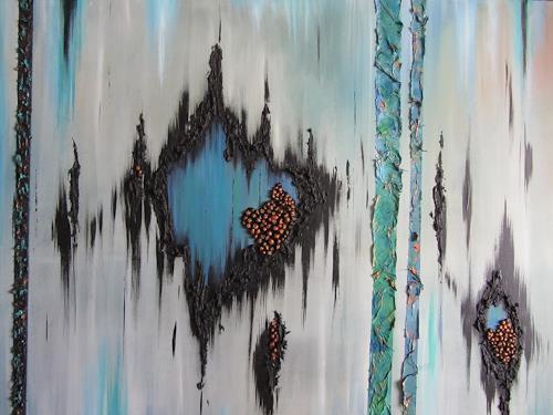 Erna Ryter, Chrysokoll, Movement, Contemporary Art