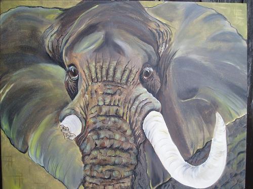 Erna Ryter, Auge in Auge, Animals: Land, Naturalism