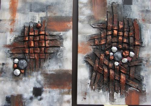 Erna Ryter, Abschied/Trauer, Death/Illness, Death/Illness, Abstract Art