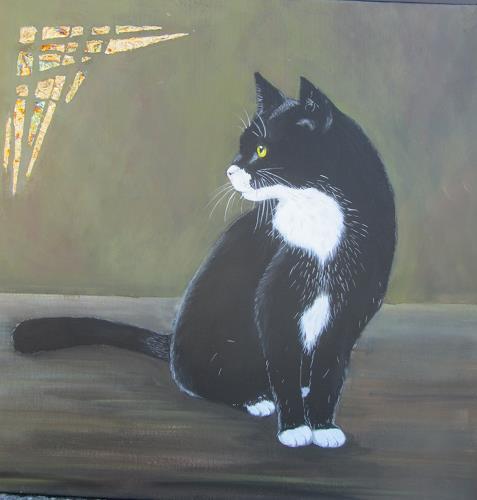 Erna Ryter, Frühlingsgefühl 2, Animals, Realism