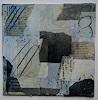 Christel Bormann, Papiercollage mit Tusche und Wachs