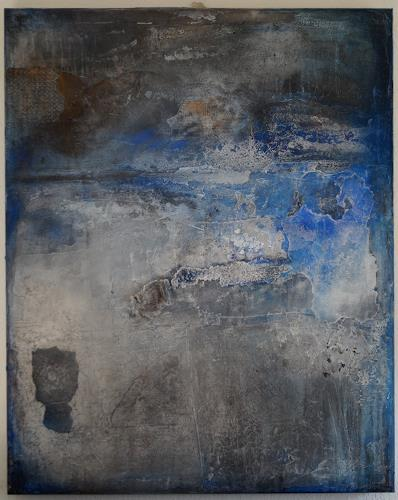 Christel Bormann, abgebröckelt, Abstract art, Abstract Art