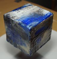 Christel Bormann, keine Collage..aber blau