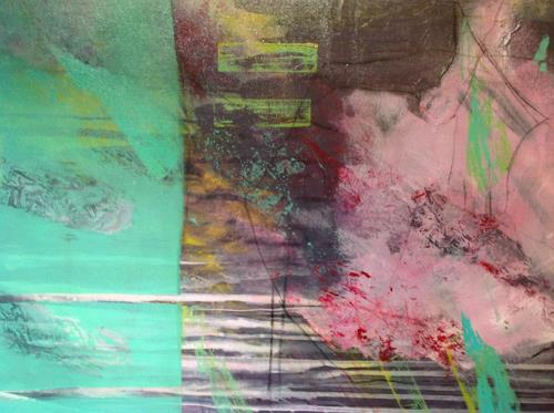 Sonia Radtke, o.t, Abstract art, Expressionism