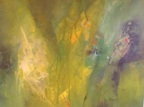 Sonia Radtke, Green, Abstract art, Modern Age, Expressionism