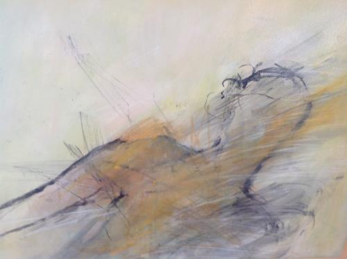 Sonia Radtke, Homme, People: Men, New Figurative Art, Abstract Expressionism