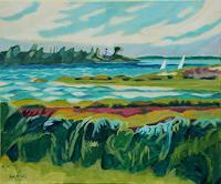 Matthias-Haerting-Landscapes-Sea-Ocean-Landscapes-Summer-Modern-Age-Modern-Age