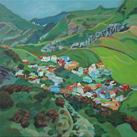 Matthias-Haerting-Landscapes-Mountains-Landscapes-Spring-Modern-Age-Modern-Age