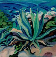 Matthias-Haerting-Landscapes-Sea-Ocean-Plants-Palm-Modern-Age-Modern-Age