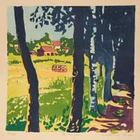 Matthias-Haerting-Landscapes-Summer-Landscapes-Hills-Modern-Age-Modern-Age