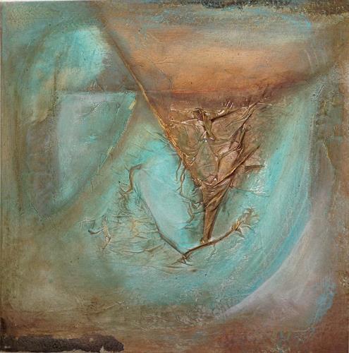 Katharina Frei-Boos, EMERALD, Abstract art, Decorative Art, Contemporary Art