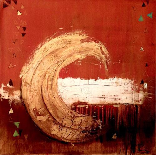 Katharina Frei-Boos, Nostalgia, Abstract art, Abstract art, Contemporary Art