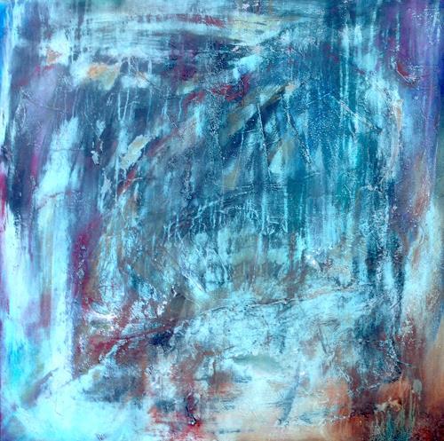 Katharina Frei-Boos, Vergänglichkeit: TEMPO PASSATI I, Abstract art, Abstract art, Contemporary Art