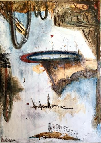 Katharina Frei-Boos, Where will we go?, Abstract art, Emotions, Abstract Expressionism, Expressionism