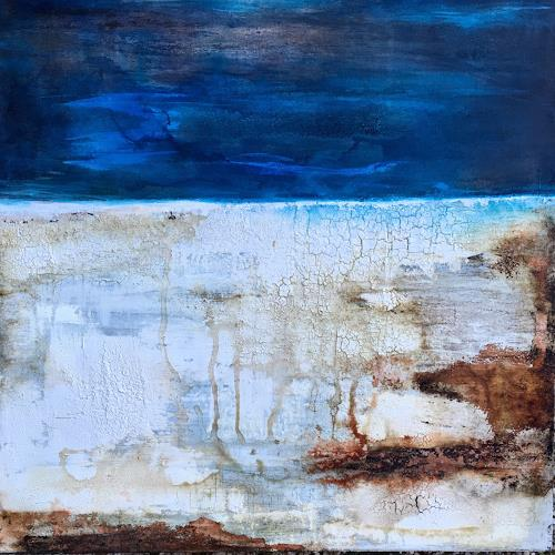 Katharina Frei-Boos, I fell in love with the sea, Abstract art, Abstract Art