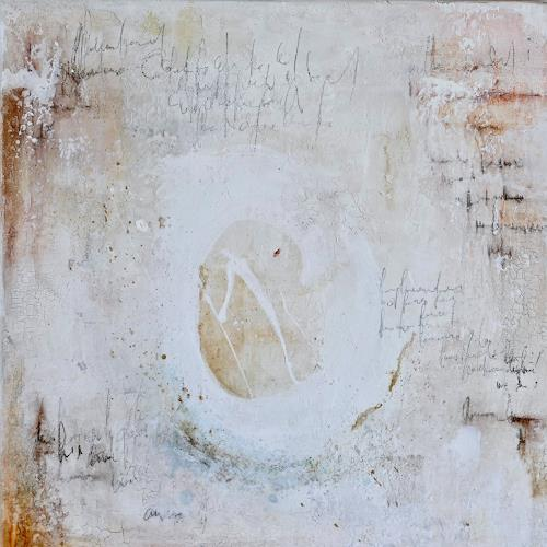 Katharina Frei-Boos, Mura toscane, Abstract art, Abstract Expressionism