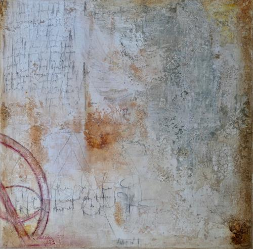 Katharina Frei-Boos, mura toscane #08-19, Abstract art, Abstract Expressionism