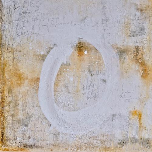 Katharina Frei-Boos, mura toscane 09-19, Abstract art, Abstract Expressionism