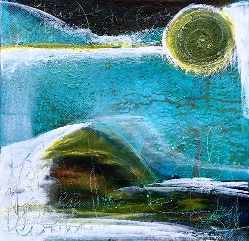 Katharina Frei-Boos, O.T., Landscapes, Abstract art, Abstract Art
