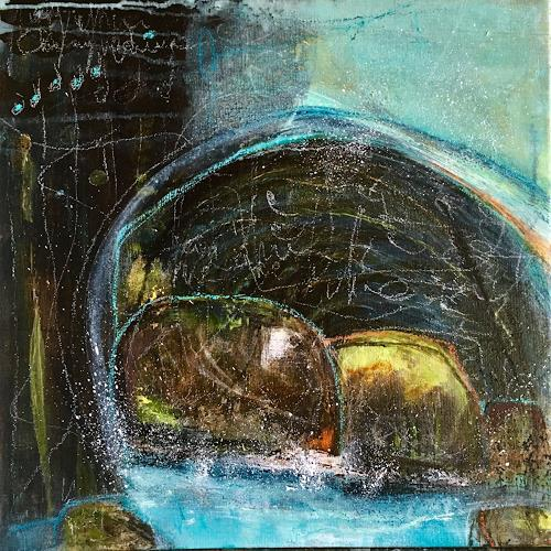 Katharina Frei-Boos, Landscape, Abstract art, Landscapes, Abstract Art, Expressionism