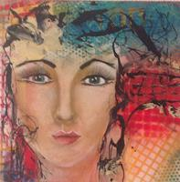 Gaby-Derungs-People-Women-Modern-Age-Abstract-Art