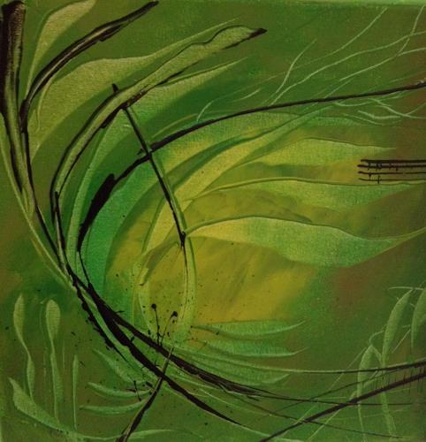 Gaby Derungs, Gräser/www.mgm-art.com, Nature, Contemporary Art