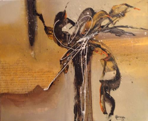 Gaby Derungs, Palme/www.mgm-art.com, Abstract art, Abstract Art