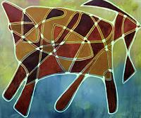 ILSE-RUBY-M-Abstract-art-Animals-Modern-Age-Abstract-Art