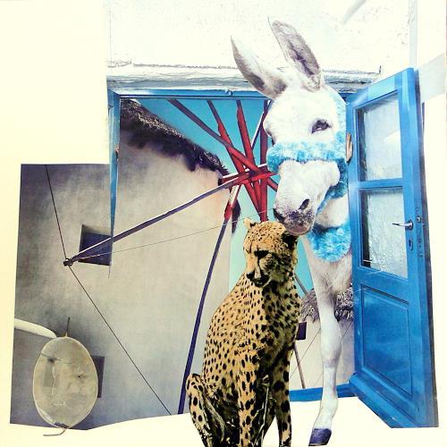 Die Welt der Lumi Divinior by Gunilla Göttlicher, gefunden, Fantasy, Fairy tales, Surrealism, Abstract Expressionism