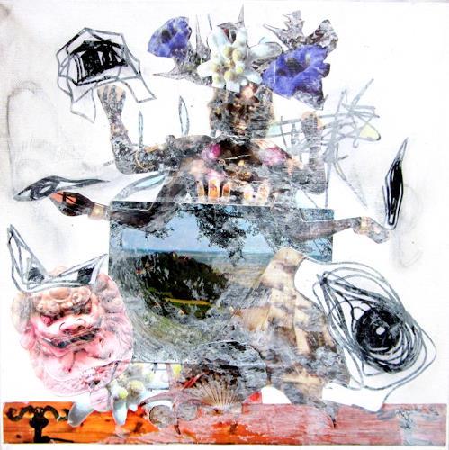 Die Welt der Lumi Divinior by Gunilla Göttlicher, Kali mit Zeichnung, Fairy tales, Belief, Surrealism