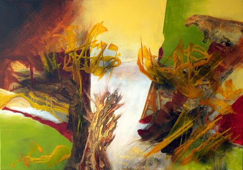 Maria und Wolfgang Liedermann, Frühling 3, Abstract art, Contemporary Art, Abstract Expressionism
