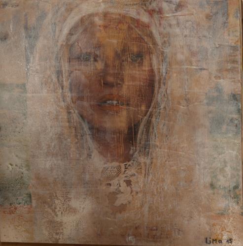 Maria und Wolfgang Liedermann, Madonna, People: Women, Contemporary Art, Expressionism