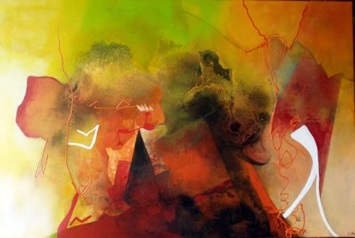 Maria und Wolfgang Liedermann, O.T. 140906, Abstract art, Expressionism