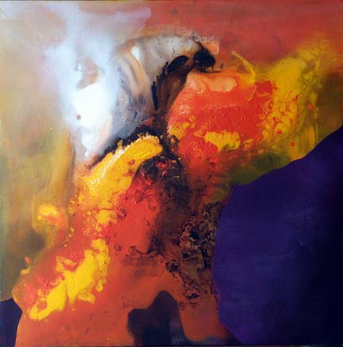 Maria und Wolfgang Liedermann, Aufkeimende Hoffnung, Abstract art, Abstract Expressionism