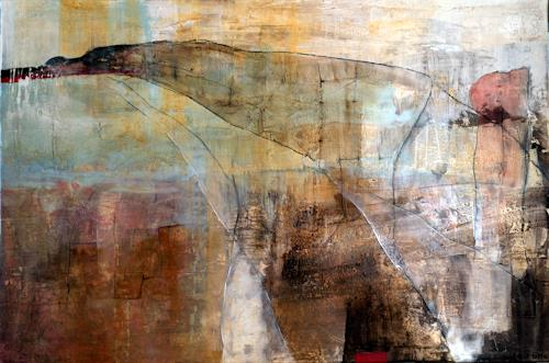 Maria und Wolfgang Liedermann, Die Sanftheit ist die Wirkung des Sinnes, Abstract art, Expressionism