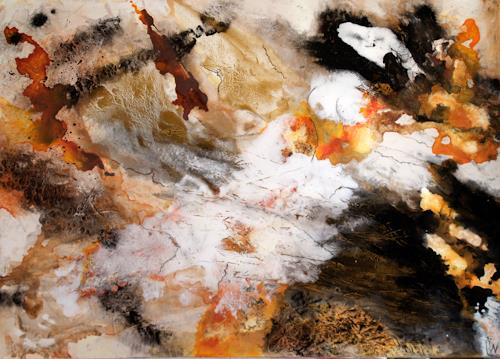 Maria und Wolfgang Liedermann, Der letzte Leopard, Abstract art, Abstract art, Abstract Art
