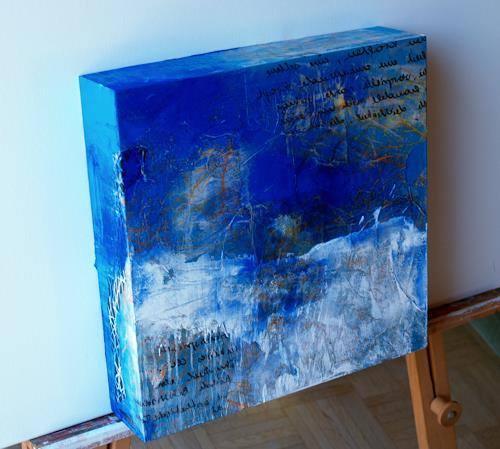 Maria und Wolfgang Liedermann, Winternacht, Abstract art, Abstract Art