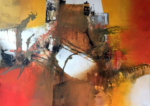 Maria und Wolfgang Liedermann, Episode VIII, Abstract art, Contemporary Art, Abstract Expressionism