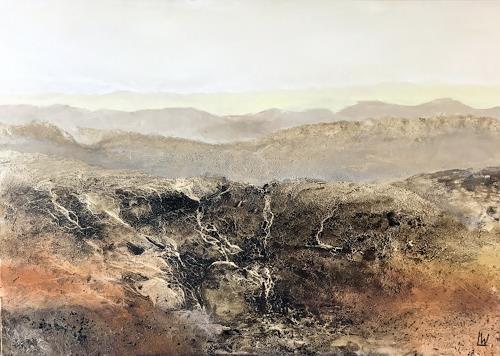 Maria und Wolfgang Liedermann, Nordkette, Landscapes: Mountains, Contemporary Art, Expressionism
