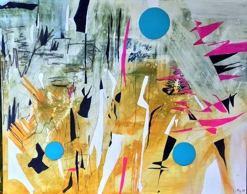 Maria und Wolfgang Liedermann, Circulo Turquesa, Abstract art, Contemporary Art