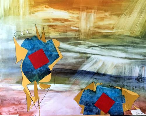Maria und Wolfgang Liedermann, Muleta, Abstract art, Contemporary Art
