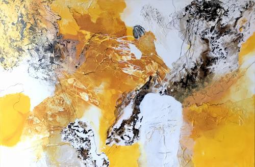Maria und Wolfgang Liedermann, Bitte bleib!, Abstract art, Abstract Art, Expressionism