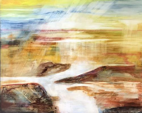Maria und Wolfgang Liedermann, Aspen, Abstract art, Landscapes, Abstract Art