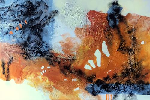 Maria und Wolfgang Liedermann, Orangenland, Abstract art, Abstract Art
