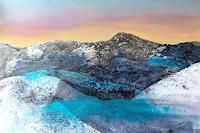 Maria-und-Wolfgang-Liedermann-Abstract-art-Landscapes-Mountains-Contemporary-Art-Contemporary-Art