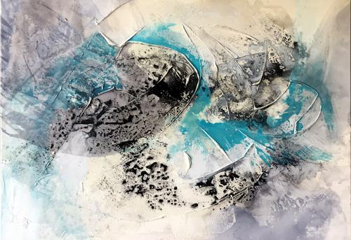 Maria und Wolfgang Liedermann, OT20190804, Abstract art, Abstract Art, Expressionism