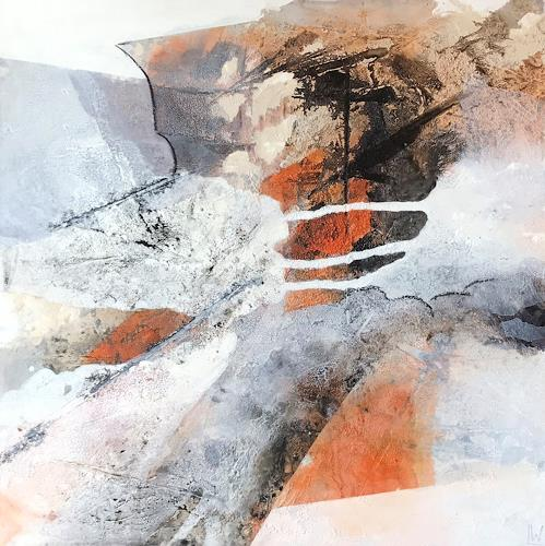Maria und Wolfgang Liedermann, How many Roads must a Man go down, Abstract art, Abstract Art