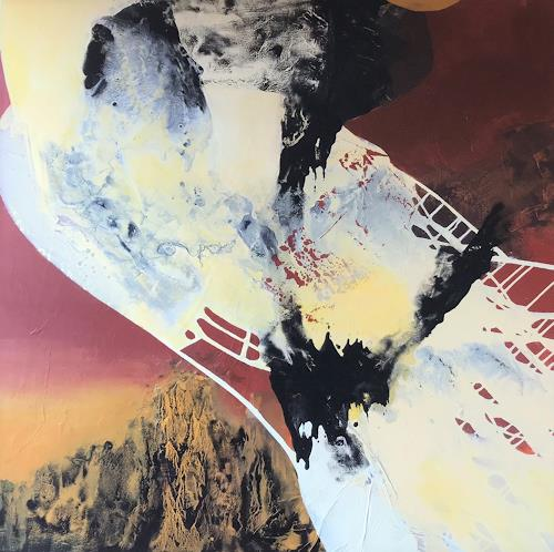 Maria und Wolfgang Liedermann, Erdverbunden, Abstract art, Abstract Art, Abstract Expressionism