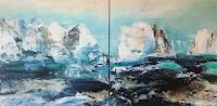Maria-und-Wolfgang-Liedermann-Landscapes-Sea-Ocean-Abstract-art-Contemporary-Art-Contemporary-Art