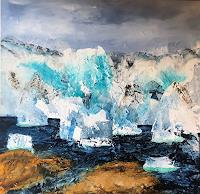 Maria-und-Wolfgang-Liedermann-Landscapes-Sea-Ocean-Landscapes-Winter-Contemporary-Art-Contemporary-Art